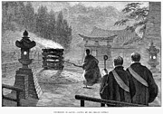 Cremation Photos - Japan: Cremation, 1890 by Granger