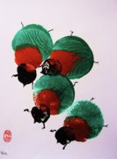 Fauna Originals - Japanese Beetles by Roberto Prusso