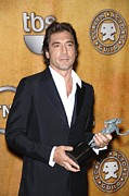 Screen Actors Guild Prints - Javier Bardem Wearing A Prada Suit Print by Everett