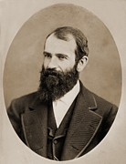 Beards Prints - Jay Gould 1835-1892, American Print by Everett