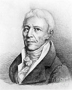 Jean-baptiste Art Framed Prints - Jean-baptiste Lamarck, French Naturalist Framed Print by Science Source