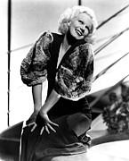 Evening Gown Photos - Jean Harlow, 1930s by Everett