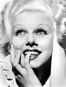 Sex Symbol Photo Prints - Jean Harlow, Mgm, Ca. Early 1930s Print by Everett