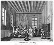 French Revolution Prints - Jean-paul Marat (1743-1793) Print by Granger