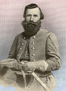 Trusted Prints - Jeb Stuart, Confederate General Print by Photo Researchers