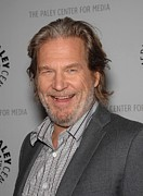 Jeff Photo Prints - Jeff Bridges In Attendance For American Print by Everett