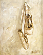 Dance Shoes Prints - Jennifers Shoes Print by Janina Pazdan
