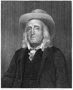 Enlightenment Framed Prints - Jeremy Bentham (1748-1832) Framed Print by Granger