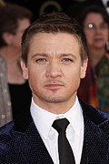 Actors Prints - Jeremy Renner At Arrivals For 16th Print by Everett