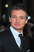 Jeremy Posters - Jeremy Renner At Arrivals For The Town Poster by Everett