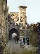Via Dolorosa Prints - Jerusalem: Via Dolorosa Print by Granger