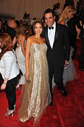 Evening Gown Photos - Jessica Alba Wearing Ralph Lauren by Everett