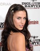 Basterds Posters - Jessica Lowndes At Arrivals Poster by Everett