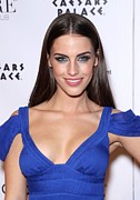 Jessica Lowndes Framed Prints - Jessica Lowndes At Arrivals For Jessica Framed Print by Everett