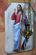 Jesus Photos - Jesus and the Cross by Munir Alawi