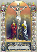 Gibbons Prints - Jesus Christ, The Crucifixion Print by Everett