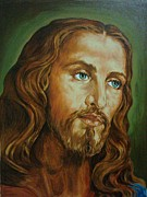 Jesus Art Paintings - Jesus - Praise The Lord by Tomy Joseph