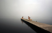 Scenic Prints - Jetty on Loch Lomond Print by Grant Glendinning
