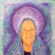 Icon  Mixed Media - Jewels of my Heart - Mary by Suzan  Sommers