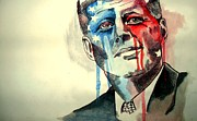 President Mixed Media - Jfk by Ellie  Green