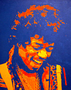 Jimi Hendrix Painting Originals - Jimi Hendrix by Doran Connell