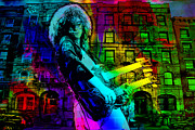 Led Zeppelin Posters - Jimmy Page Poster by Dancin Artworks