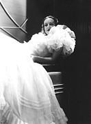 Crinoline Framed Prints - Joan Crawford, 1930s Framed Print by Everett