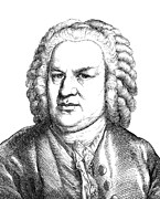 18th Century Photos - Johann Sebastian Bach by Granger