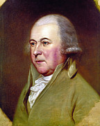 Peale Photo Posters - John Adams (1735-1826) Poster by Granger