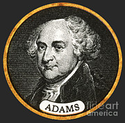 President Adams Posters - John Adams, 2nd American President Poster by Photo Researchers