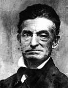Abolition Metal Prints - John Brown (1800-1859) Metal Print by Granger