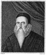 Astrologer Framed Prints - John Dee (1527-1608) Framed Print by Granger