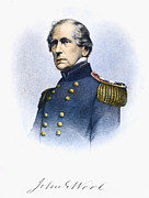 U.s. Army Prints - John Ellis Wool (1784-1869) Print by Granger