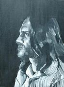 Red Hot Chili Peppers Paintings - John Frusciante by Kellie Hogben