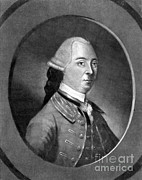 Colonial Man Framed Prints - John Hancock, American Patriot Framed Print by Photo Researchers