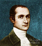 Anti-slavery Framed Prints - John Jay, American Founding Father Framed Print by Photo Researchers