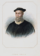 Reformer Framed Prints - John Knox (1513-1572) Framed Print by Granger