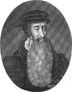 Reformer Framed Prints - John Knox, Scottish Protestant Framed Print by Photo Researchers
