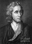 Rights Of Man Metal Prints - John Locke, English Philosopher, Father Metal Print by Science Source