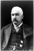 J.p. Photo Prints - John Pierpont Morgan, Financierbanker Print by Everett