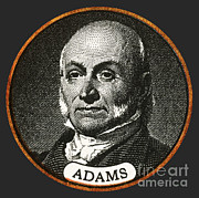 Doctrine Prints - John Quincy Adams, 6th American Print by Photo Researchers