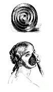Anesthetic Posters - John Snows Ether Inhaler, 1847 Poster by Science Source