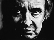 Bdcurran Drawings - Johnny Cash by Brian Curran
