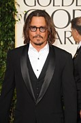Johnny Depp Photos - Johnny Depp At Arrivals For The by Everett