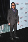 Full-length Portrait Metal Prints - Johnny Depp At Arrivals For The Tourist Metal Print by Everett