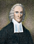 Evangelical Framed Prints - Jonathan Edwards Framed Print by Granger