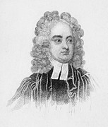 Clergy Photos - Jonathan Swift (1667-1745) by Granger