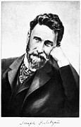 Photogravure Photo Framed Prints - Joseph Pulitzer (1847-1911) Framed Print by Granger
