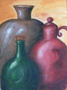 Jugs Prints - Jugs Print by Frankie Stockman