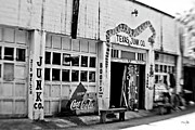 Coca-cola Signs Metal Prints - Junk Company Metal Print by Scott Pellegrin